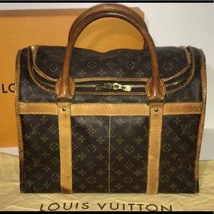 Authentic Louis Vuitton SAC CHAUSSURES 40 pet bag